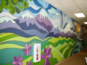 Murals: $10-15 per square foot